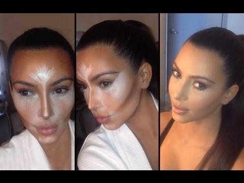 Kim Kardashian, la reine du contouring > Contouring