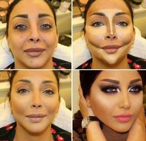 Le contouring du visage > Contouring