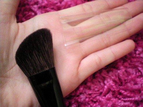pinceau blush biseauté