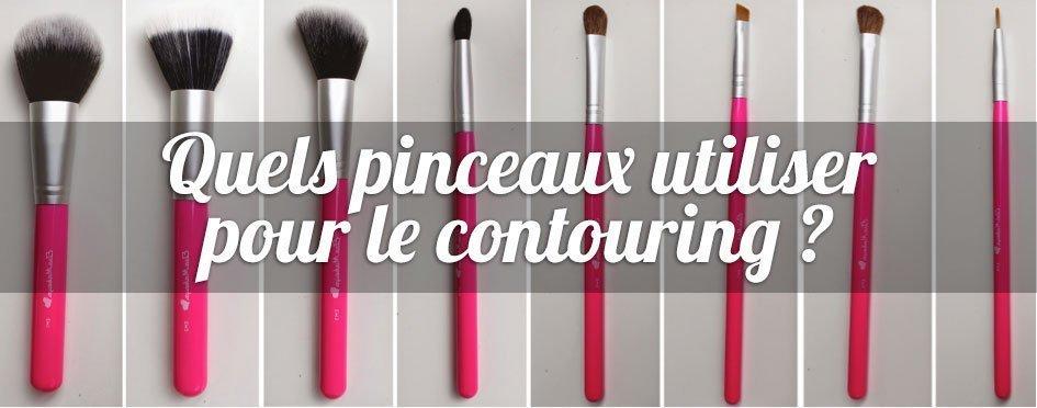 Quels pinceaux utiliser pour le contouring contouring - Pinceaux maquillage utilisation ...