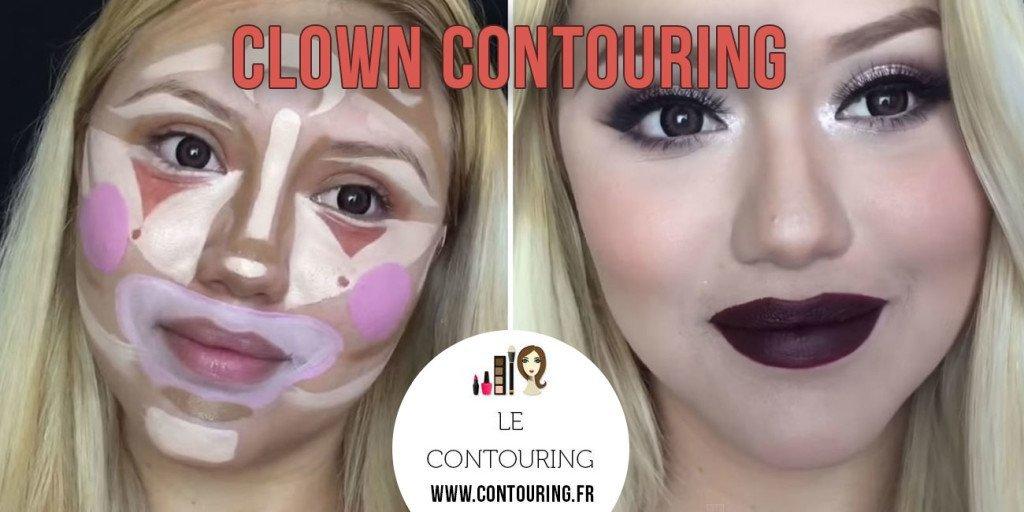 clown-contouring